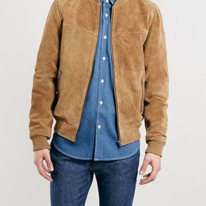 Topman Ltd Laurel Canyon Bomber Jacket